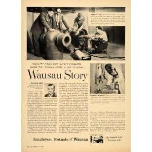Mutuals Wausau Wisconsin Art Dunn   Original Print Ad