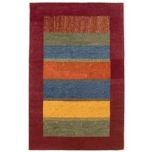 Oasis Collection Meadow / Villager Red RugCouristan Rug