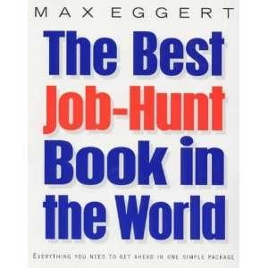 JOB HUNT BOOK IN THE WORLDEVER (9780712684675) MAX EGGERT Books