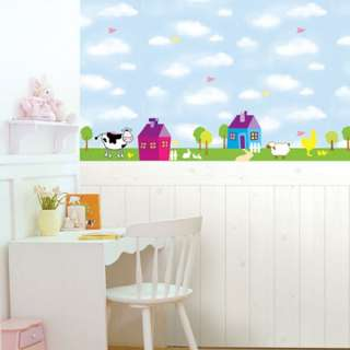 KIDS Adhesive Removable Wall Home Decor Accents Stickers Decals