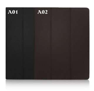 PU Leather Smart Case Cover STAND for ipad 2 /2 color