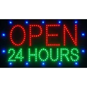 24 HOURS OPEN Electronic LED Message Sign Electronics
