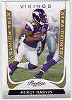 2011 Panini Certified PERCY HARVIN parallel Mirror GOLD Minnesota
