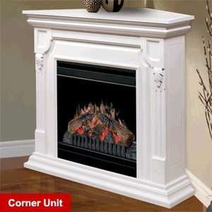 Dimplex Warren White Electric Fireplace Convertible Mantel
