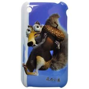 Interesting Animal Pattern Plastic Hard Case for iPhone 3G/GS