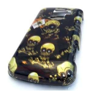LG Optimus Q L55c Emo Baby Skull Design Case Cover Skin