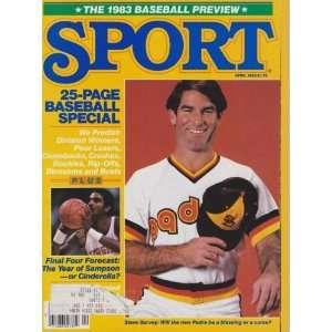 Steve Garvey (Sport Magazine) (April 1983) (Ralph Sampson