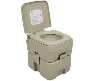 PALM SPRINGS 5 GAL PORTABLE TOILET CAMPING TRAVEL POTTY