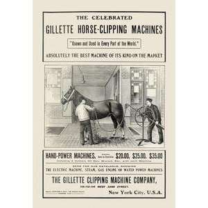 30 stock. Celebrated Gillette Horse Clipping Machines: Home & Garden