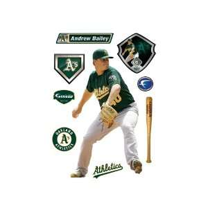 MLB Oakland Athletics Andrew Bailey Wall Graphic Sports