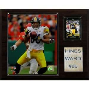 NFL Hines Ward Pittsburgh Steelers Player Plaque