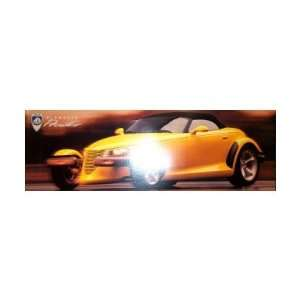 1999 PLYMOUTH PROWLER Sales Brochure Literature Book