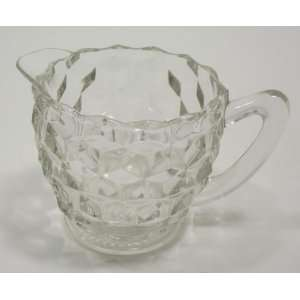 Vintage Pressed Glass Creamer Everything Else