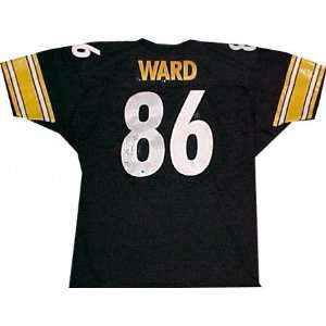 Hines Ward Pittsburgh Steelers Autographed Throwback Black Jersey