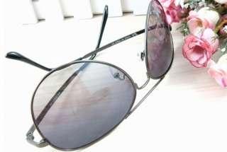New cool Sunglasses Black Aviators Medium Full Mirror