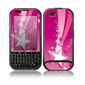 Pink Stars Design Protective Skin Decal Sticker for Motorola Titanium