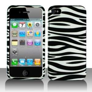 Cuffu   Black and White Zebra   Apple iPhone 4 Case Cover