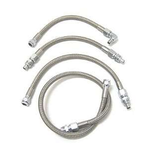 Steel Braided Oil Line Kit For Harley Davidson Softail Automotive
