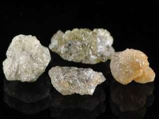 Carat Fancy + Unique Natural Rough Diamond Specimens