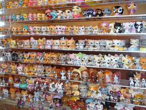 50pcs Littlest Pet Shop Lot LPS Girl Animasl Loose Figures Child