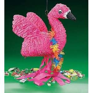 Beach Flamingo Piata   Party Decorations & Pinatas Health