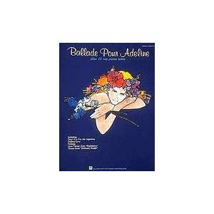 Adeline Plus 15 Top Piano Solos Composer Various