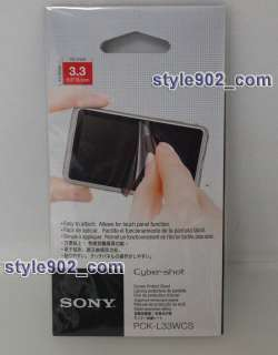Original Sony PCK L33WCS Semi Hard Proecive Shee For 3.3 inch wide