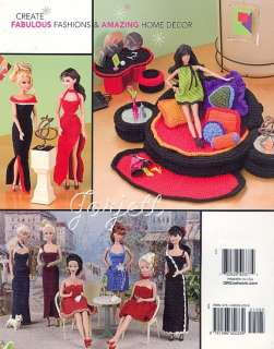 Fashion Doll Collection Book 3, Annies crochet patterns fit Barbie