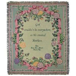 Personalized Mother Tapestry Throw