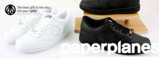 New MENS Paperplanes Air Force Basic White shoes US