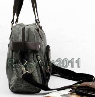 New Pattern Canvas Mens Travel Bag BookBag Gym Duffle Pack