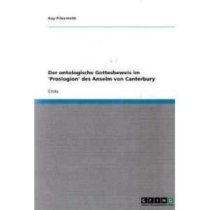 von Canterbury (German Edition) (9783638902052) Kay Pilkenroth Books