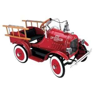 Classic Kids 12620 Deluxe Fire Truck Pedal Car Toys & Games