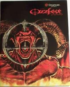 Ozzy Osbourne Ozzfest 2000 Tour Book Concert Program NM