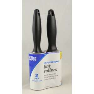 Lot of 2 Quality Lint Rollers Pet Hair Remover