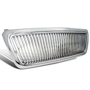 FORD F150 XL STX XLT FX4 CHROME VERTICAL FRONT GRILL 1 PC