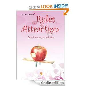 Rules of Attraction: Dr. Amit Abraham:  Kindle Store