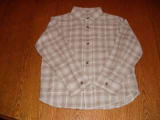 NWT Arizona dress shirt top toddler boys clothing 5T