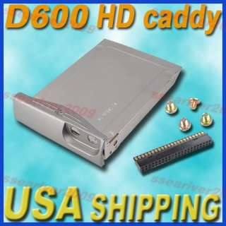 New Hard Drive Caddy Cover for Dell Latitude D500 D600