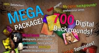 MEGA DIGITAL BACKDROPS PHOTO BACKGROUNDS PHOTOSHOP