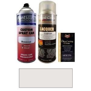 12.5 Oz. Clear Silver Metallic Spray Can Paint Kit for 2006 Kia Amanti