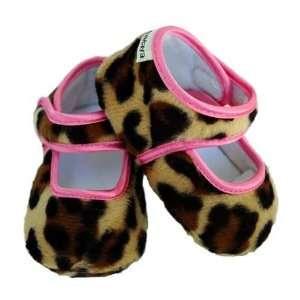 Baby Bella Maya Lollipop Leopard Designer Baby Booties (6
