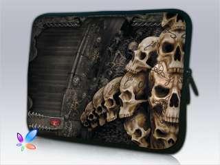 15.4 15.6  Skull Laptop Bag Notebook Case Sleeve Soft