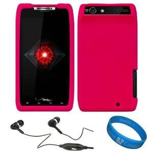 Hot Pink Rubberized Soft Silicone Protective Skin Cover