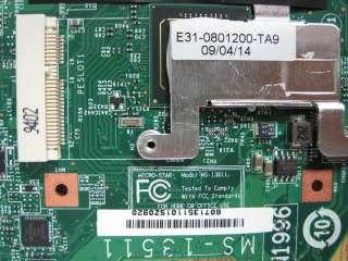 MSI X320 slim notebook motherboard Atom CPU