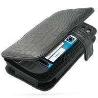 Leather Case for Nokia N800 Internet Tablet   Book Type (Black