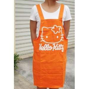 Pink Hello Kitty Head Home Kitchen Chef Apron Strap plus 2