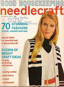 1970s Vintage Crochet Knitting Pattern Winter/Fall Fashions Dresses