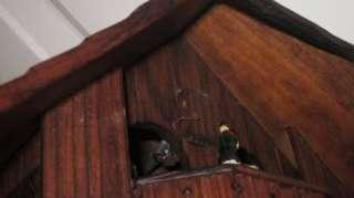 VINTAGE German Black Forest German Cuckoo Clock Hummel Musical Swiss