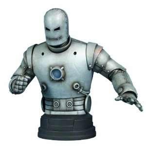 Gentle Giant Studios Iron Man Classic Silver Mini Bust Toys & Games
